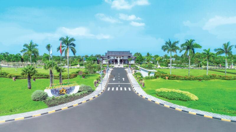 Hoa viên Nghĩa trang đẹp, ấn tượng Sài Gòn Thiên Phúc